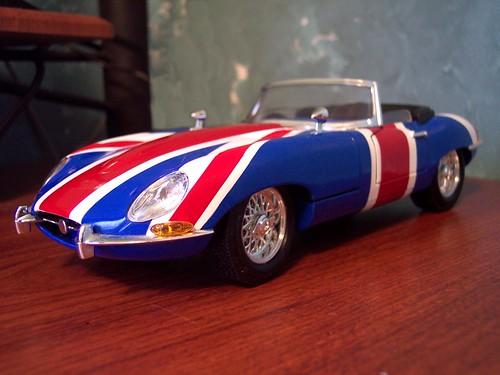 1965 Jaguar E Type (Austin Powers, International Man Of Mystery)