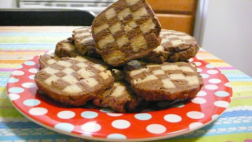 Vegan Checkerboard Cookies