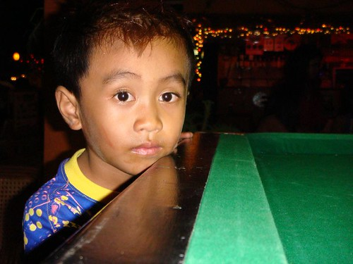Boy in bar. Chiang Mai.