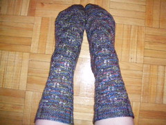 Elfine's Socks - finished!