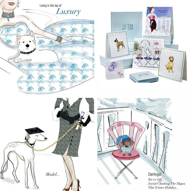 The Pet Set Stationery