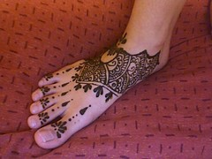 My foot... literally! =P (Hiral Henna) Tags: beautiful tattoo foot indian annarbor arbor ypsilanti ann henna mehendi mehndi ypsi shah mehandi hiral hiralhenna hiralshah