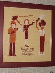 IT Crowd Cross-stitch