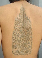 Temple tattoo