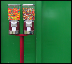 candy machines (Tal Bright) Tags: green simple mundane batyam candymachines