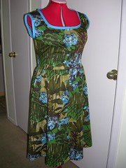 dress finished