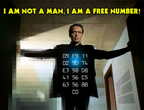 I Am Not A Man, I Am A Free Number!