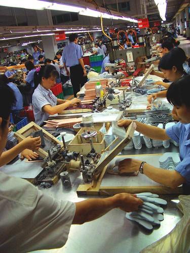 Ipari gyártás Kínában