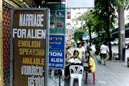 Bangkok - Marriage for Aliens