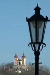 Calvary Hill (jandudas) Tags: old city lamp architecture town religion mining unesco hills historical slovakia slowakei calvary stiavnica banska slovaquie schemnitz selmecbánya