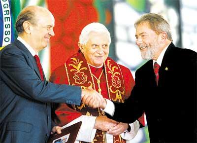 Serra, Bento e Lula