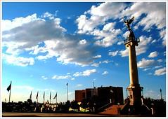 Plaza Mayor Chihuahua Mexico (- Nahum -) Tags: chihuahua color angel mexico angeles centro catedral nubes bandera mexicanos talavera hdr estado caminando nahum viajeros azteca historico ordonez espaol ordoez chihuahuamexico intentos nahumordoez notchih 1chihuahua travelerphotos