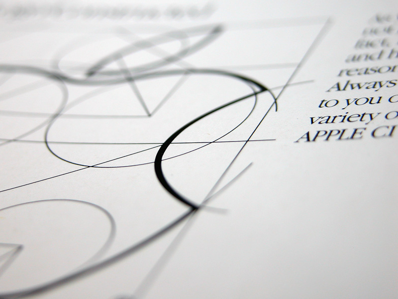 apple logo deconstructed photo from apple s identity Style Guide Template Style Guide Template