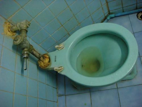 Dodgy toilet...