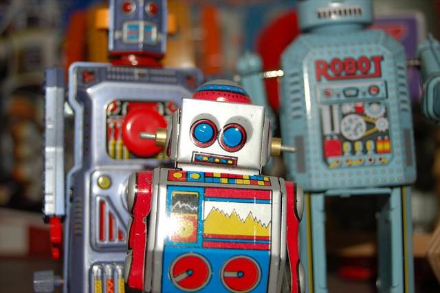 Robots...