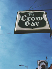 Crow Bar sign