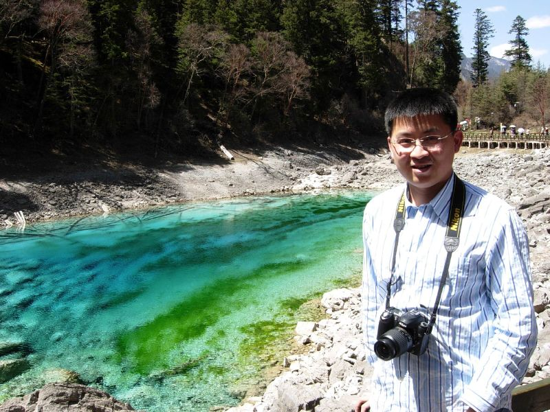 Multi-color Lake, Jiuzhaigou, Sichuan, China