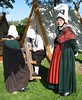 Normandy folk costume