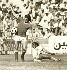 Finess (Karim-) Tags: blackandwhite bw fun football dad soccer father egypt ahly masr alahly