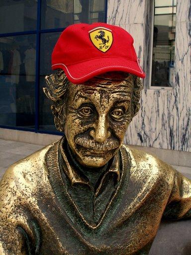 Albert Tifoso della Ferrari