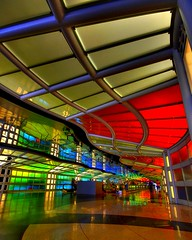 Neon travel (iceman9294) Tags: travel chicago illinois airport nikon neon corridor ohare hallway professional walkway neonlights ord chriscoleman blueribbonwinner 1000v40f d80 abigfave anawesomeshot superaplus aplusphoto superhearts iceman9294 betterthangood world100f