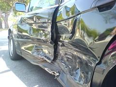 Exterior Damage, Close Up, From Rear (eaglebtc) Tags: suburban accident bmw lakewood e34 525i w810i