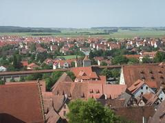 Rothenburg von oben 1