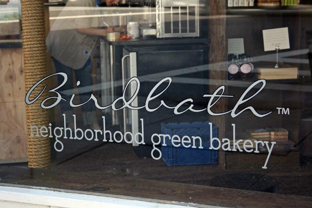 Birdbath window