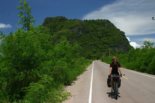 Nicolai in the tropics of Thailand...