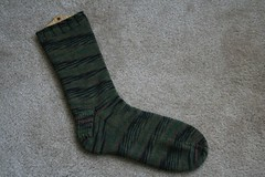 Camo Sock 053107