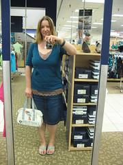 Thursday (Elena777) Tags: reflection me fashion shop wardroberemix self shopping myself mirror store outfit sears style lynnwood alderwood alderwoodmall