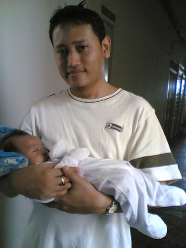 Papa n Baby Ash