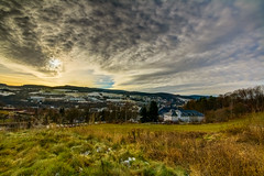 IMG_0743_4_5_fused-2 (André Leonhardt) Tags: heaven abend beauty colors clouds canon deutschland erzgebirge eos70d evening germany hdr himmel hills landschaft landscape natur nature nacht night photography sonnenuntergang sunset wolken winter town trees