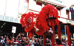 Hock Chong Lion on poles (hockchong liondance) Tags: wedding festival temple flickr chinatown drum buddha buddhist performance culture happiness australia chinesenewyear brisbane fortune demonstration entertainment monastery cny lucky displays kungfu queensland wushu buddhisttemple lunarnewyear firecrackers liondance dragondance chineselion buddhasbirthday festiveseason chinesedrum fatsan eyedotting happymonk hoksan hockchong fatshan hockshan northlion southlion