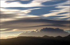 [v.3] (shadowplay) Tags: sunset panorama storm silhouette clouds deathvalley questfortherest panamints