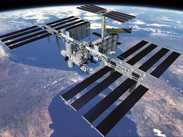 International Space Station. The International Space