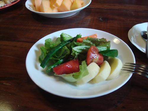 新鮮的蔬菜沙拉