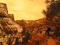 Zion 043 (stenolsen) Tags: hiking zion zionnationalpark thenarrows