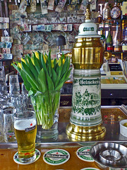 Dutch Pleasures (frogdog*) Tags: holland beer amsterdam bar heineken pub tulips nederland netherland lekker slworking aplusphoto