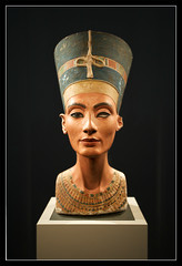 Nefertiti - 3000 years old and still pretty good looking. (Unique_Snowflake) Tags: berlin statue museum digital canon germany eos egypt egyptian beautifulwoman dslr nefertiti ef1740f4l 1dsmkii impressedbeauty mostbeautifulwomaninhistory