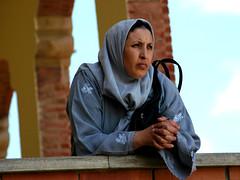 Mother of Five (Greg Robbins) Tags: people woman women muslim mother hijab arab catalunya immigrants immigrant masnou