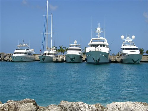 Boats in Barbados