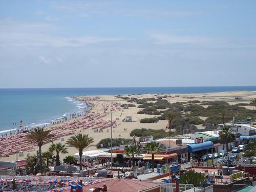 Playa des Inglés und Dunas de Maspalomas