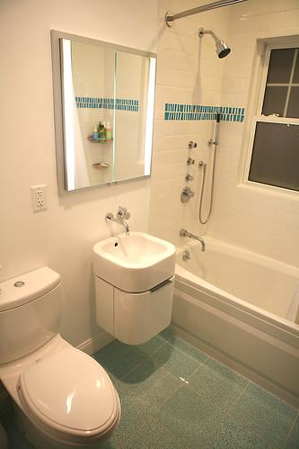 Bathroom... 98.9% near done