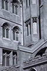 John Rylands Library, Manchester UK (fotofacade) Tags: uk greatbritain england urban building heritage architecture john manchester education unitedkingdom library gothic victorian historic resource flyingbuttress greatermanchester rylands johnrylandslibrary