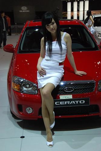 Model and Kia Cerato