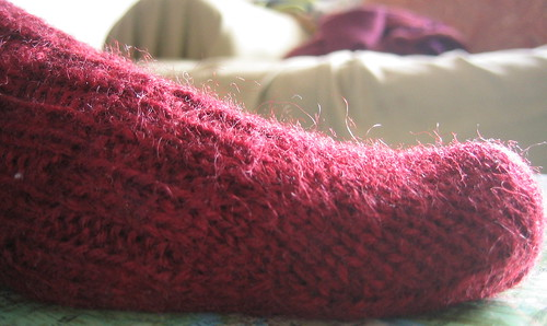 Gentlemen's Fancy Sock close-up
