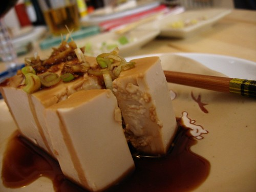 Tofu prepared by Shirley in Seregno, Italy