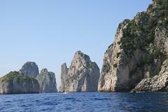 Coastal cliffs of Capri
