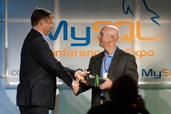 Marten Mikos / Mark Jones (hp) MySQL Partners of the Year Awards